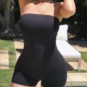Fashion Nova Buenos Aires black romper